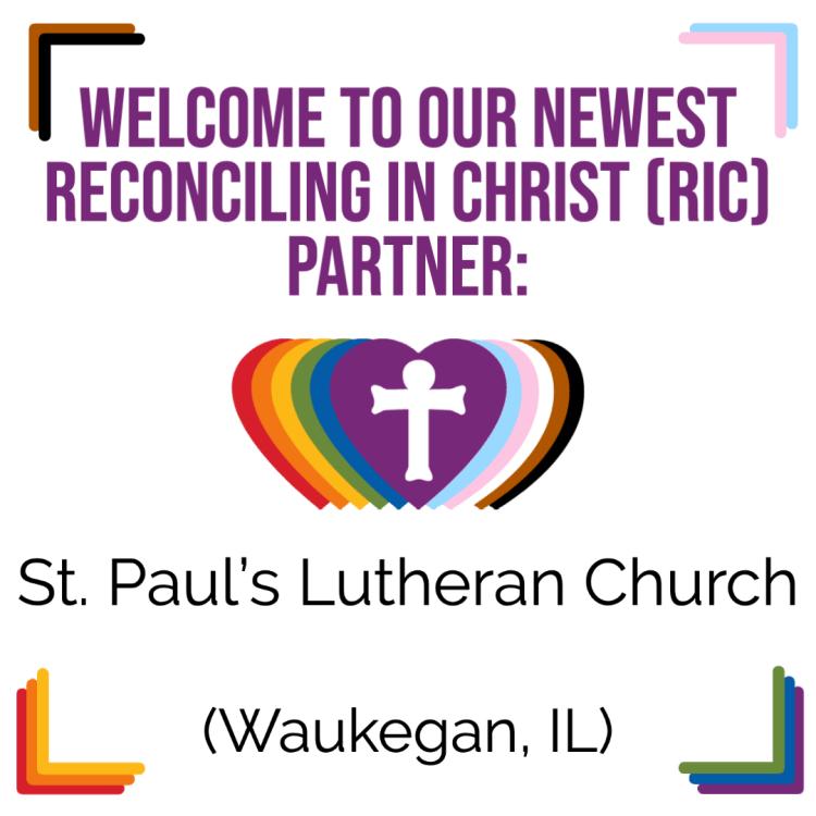 A New RIC Community: St. Paul's Lutheran Church (Waukegan, IL)