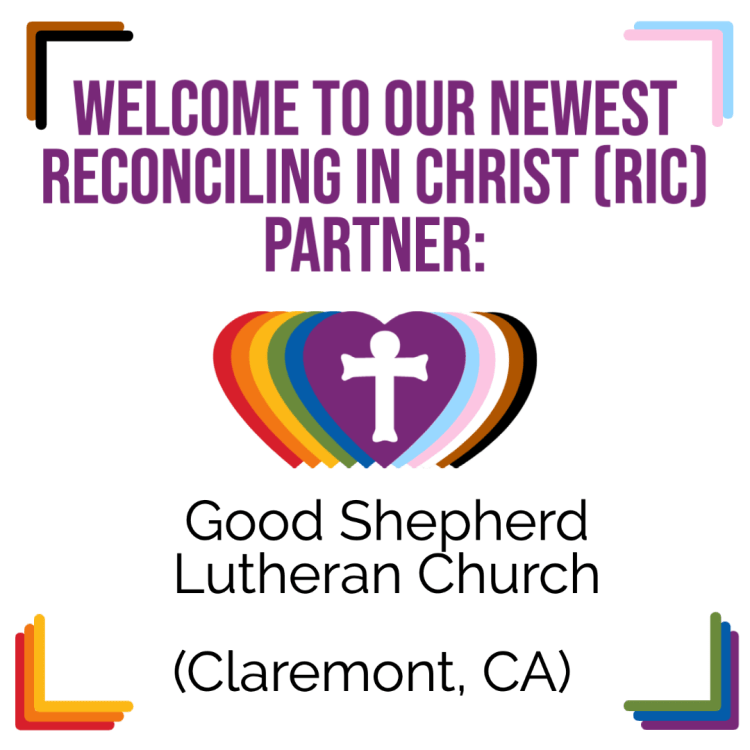 A New RIC Community: Good Shepherd Lutheran Church (Claremont, CA)