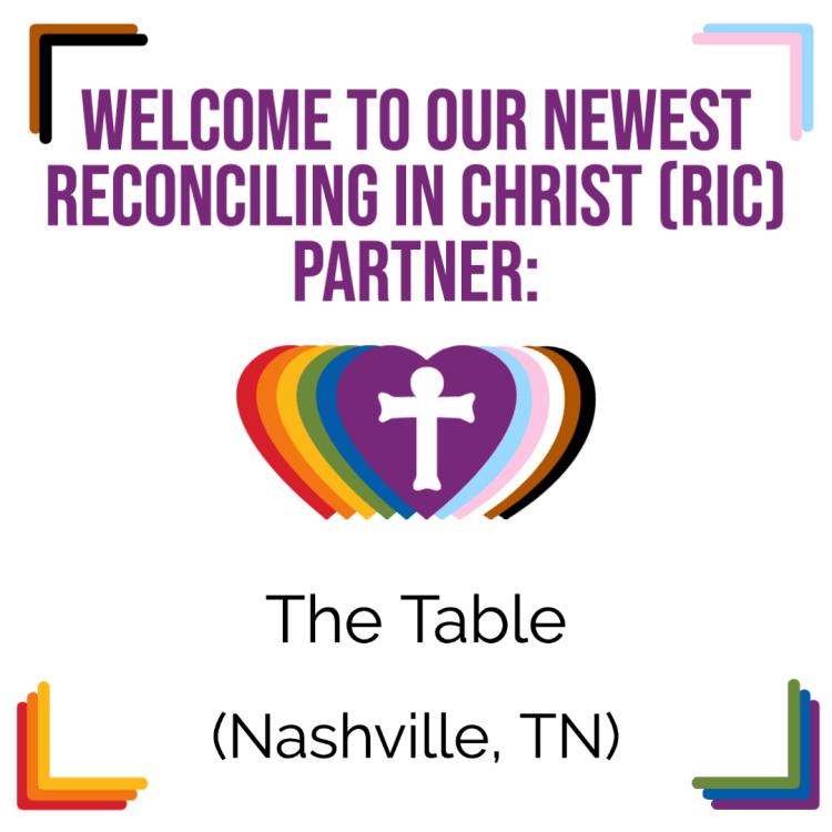 A New RIC Community: The Table (Nashville, TN)