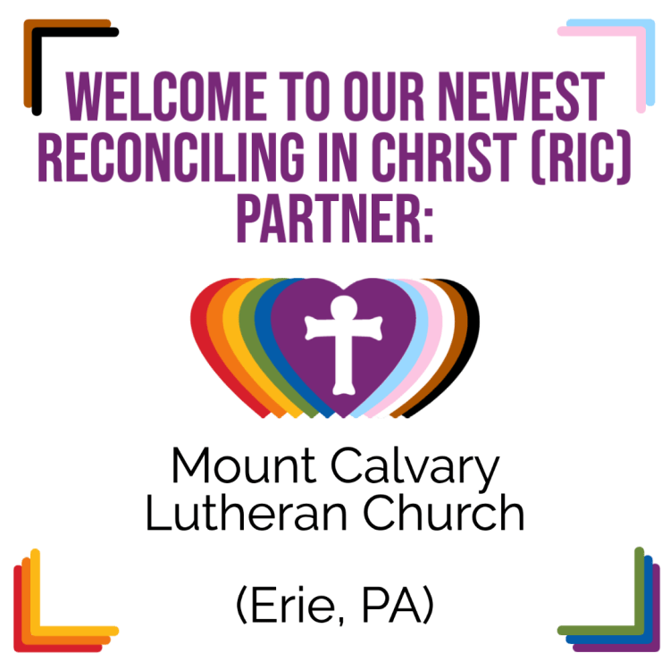 A New RIC Community: Mount Calvary Lutheran Church (Erie, PA)
