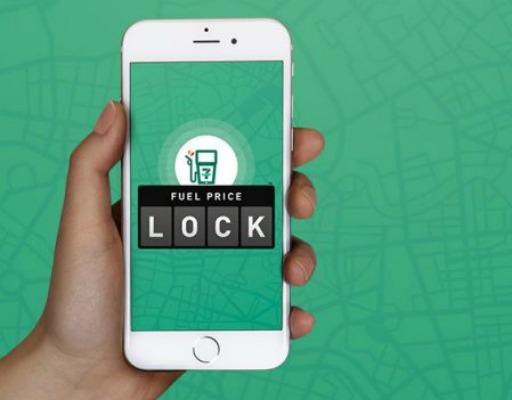 Aplicación 'We Fuel', en un teléfono celular