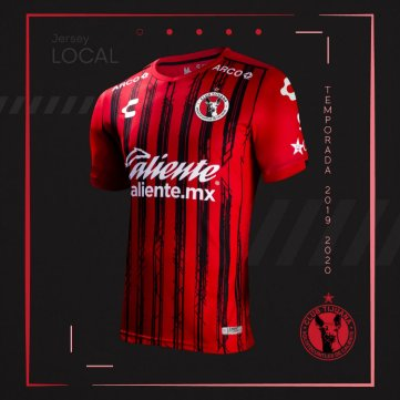 Playera de local de Tijuana