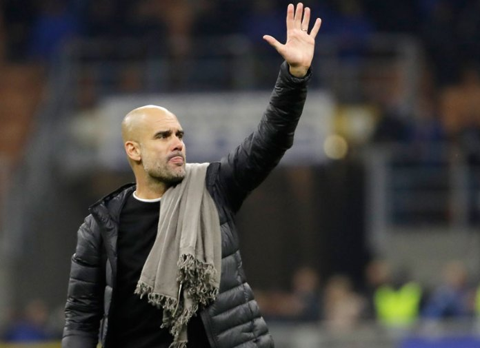 Pep greets Manchester City fans
