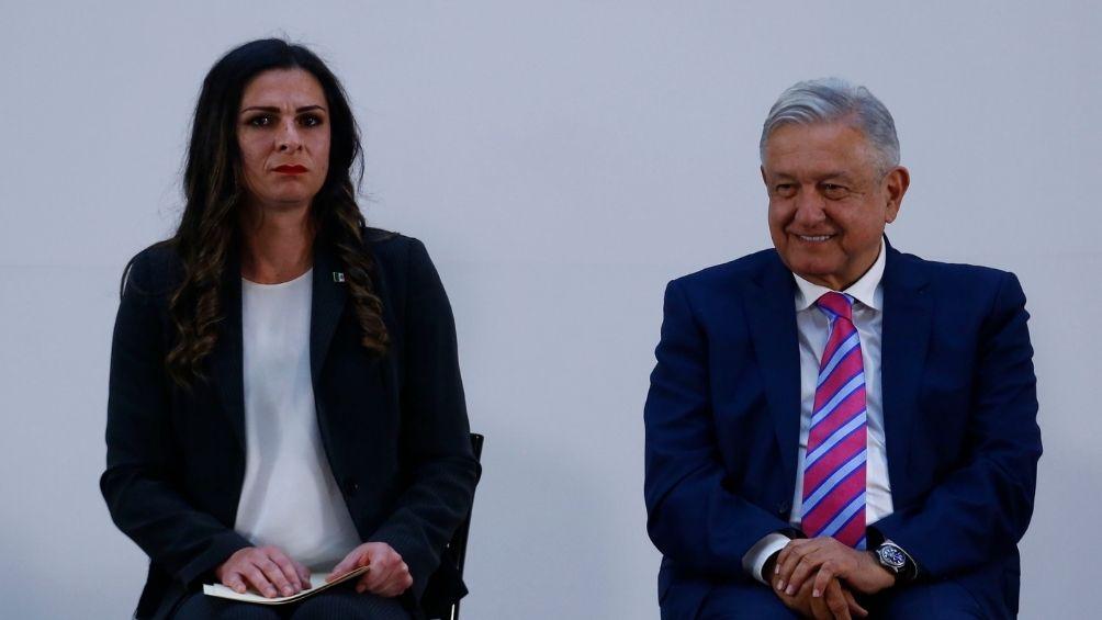 Ana Guevara y López Obrador
