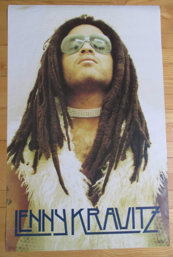 KRAVITZ, LENNY Vintage Poster 1993 Original  34″ x 22″ Funky