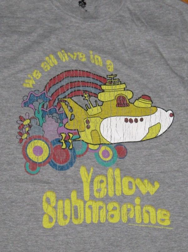 BEATLES YELLOW SUBMARINE T-SHIRT M*