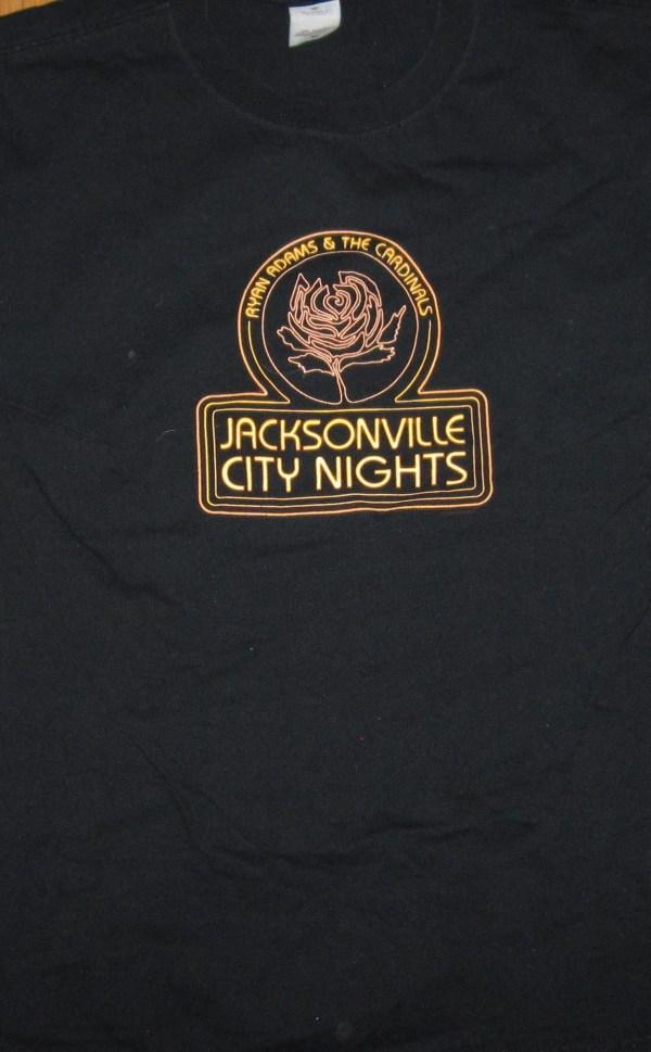 ADAMS, RYAN JACKSONVILLE CITY NIGHTS T-SHIRT M