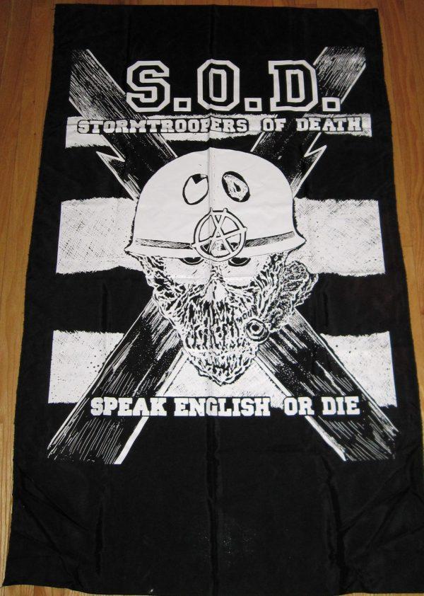 S.O.D VINTAGE FLAG