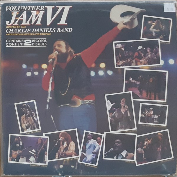 "DANIELS, CHARLIE BAND - ""Volunteer Jam VI"""