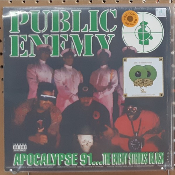 "PUBLIC ENEMY - ""Apocalypse '91, The Enemy Strikes Back"" - SEALED"