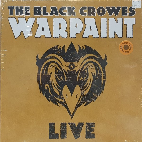 "BLACK CROWES, THE - ""Warpaint - Live"" - 3xLP boxset SEALED"