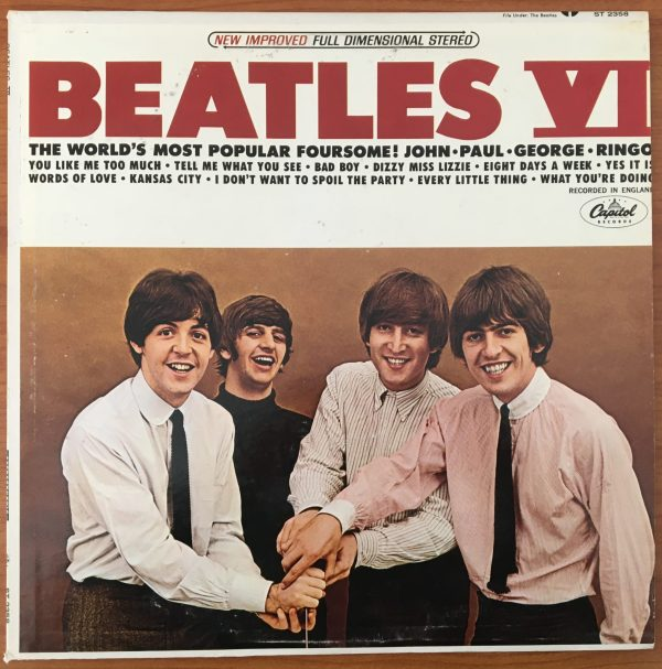 "BEATLES, The ""BEATLES VI"" Vintage LP (USA Apple Label)"