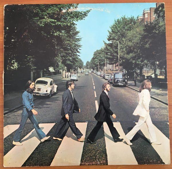 "BEATLES, The ""ABBEY ROAD"" Vintage LP (Canada Orange Label)"