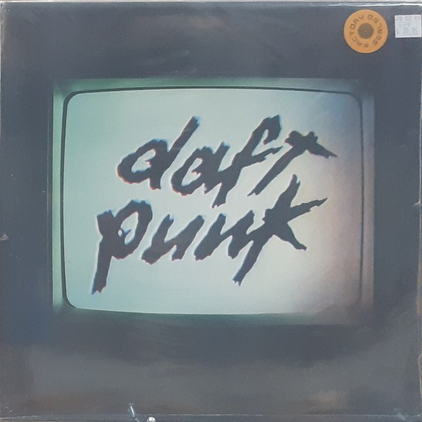 """DAFT PUNK - """"Human After All"""" - Sealed New 2xLP"""