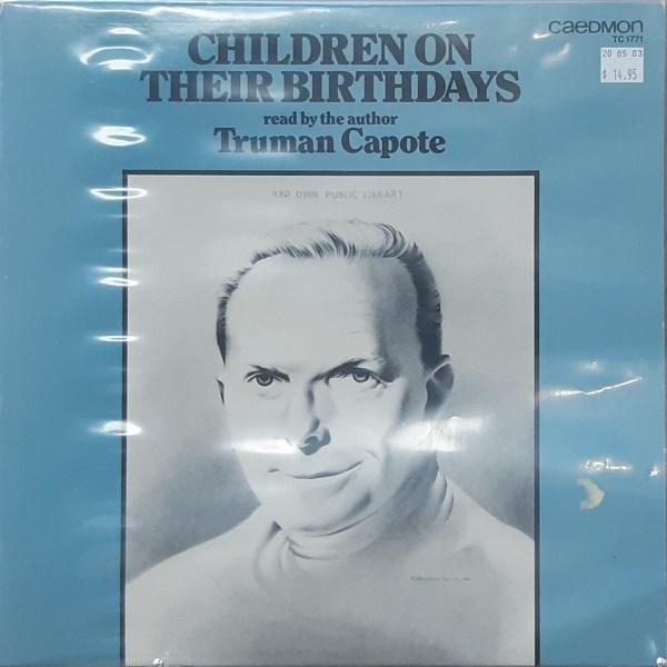 "CAPOTE, TRUMAN - ""Children On Their Birthdays"" - Vintage LP"