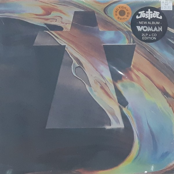 """JUSTICE - """"Woman"""" - New LP SEALED"""