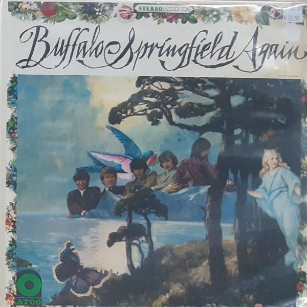 "BUFFALO SPRINGFIELD - ""Again"" - Vintage LP"