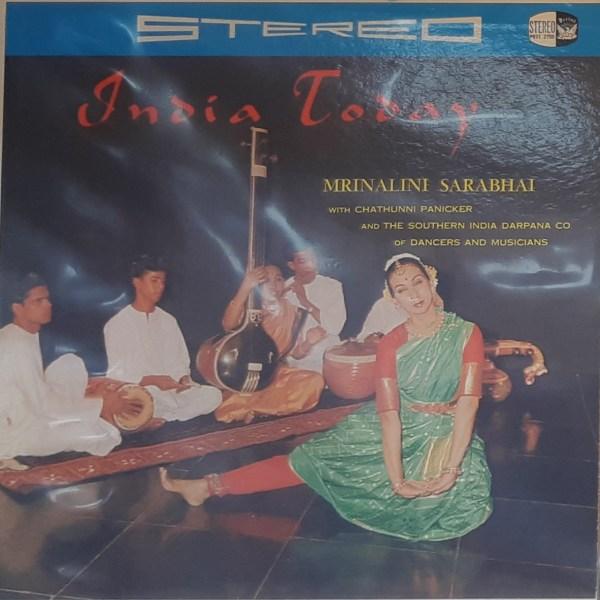 "SARABHAI, MRINALINI - ""India Today"" - Vintage LP"