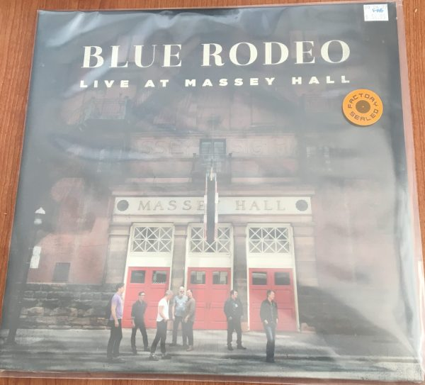 """BLUE RODEO - """"Live At Massey Hall"""" - New 2xLP Sealed"""