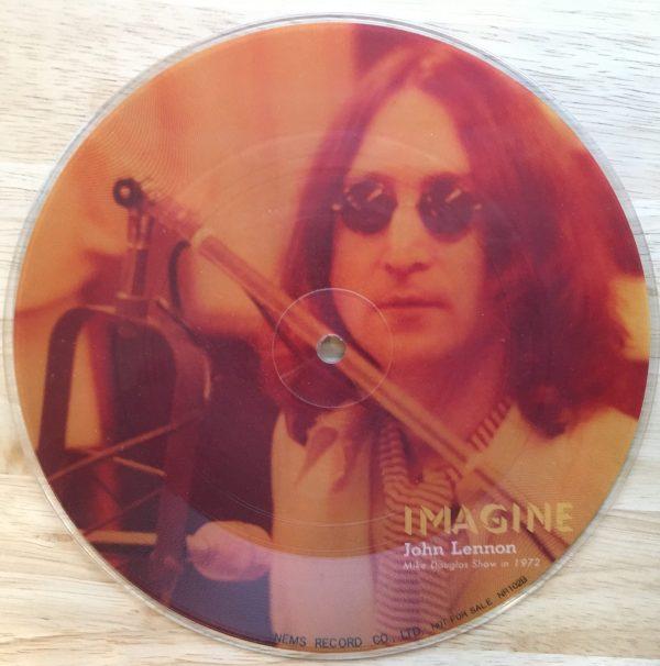"LENNON, JOHN / PAUL McCARTNEY- ""Imagine / Maybe I'm Amazed"" 7"" 45 RPM Picture Disc"