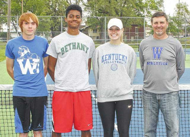 Blue Lions Sending 3 To Districts The Record Herald