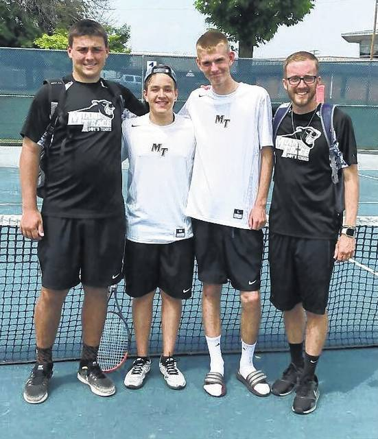 Three Panthers Heading To Tennis District The Record Herald