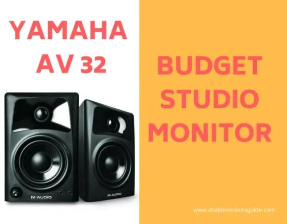 Budget Studio Monitor