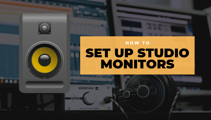 Set Up Studio Monitors