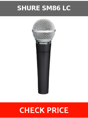 Shure SM86 LC review