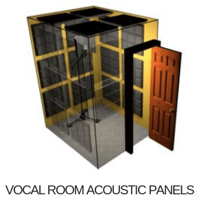 vocal room acoustic panels