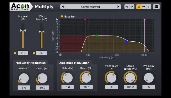 acon digital multiply chorus