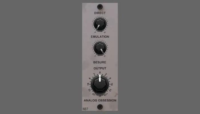 besure n87 microphone modeler plugin