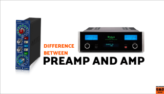 difference between preamp and amp