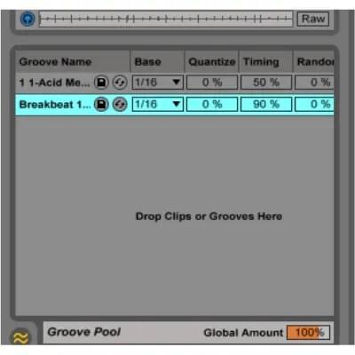 ableton groove pool