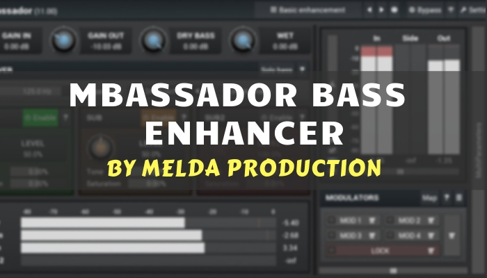 mbassador bass enhancer plugin