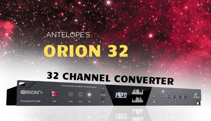 antelope orion 32