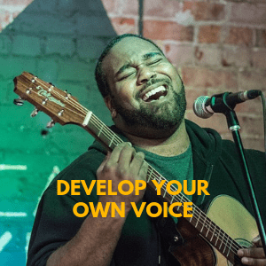 develop your own voice