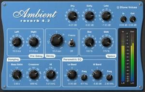 ambient reverb stone voice