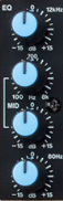 equalizer channel strip mixer