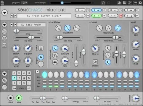 MicroTonic drum vst plugin for beginners