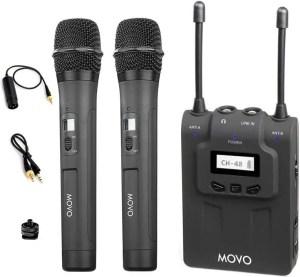 Movo WMIC80 wireless lavalier mic