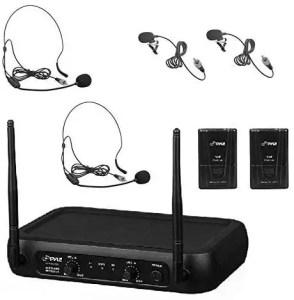 Pyle Pro PDWM2145 wireless lavalier microphone system