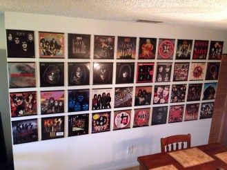 KISS record display