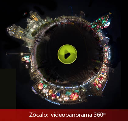 Video panorama Zócalo