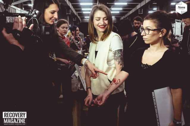 Sasha Unisex at Milano Tattoo Convention NORA images