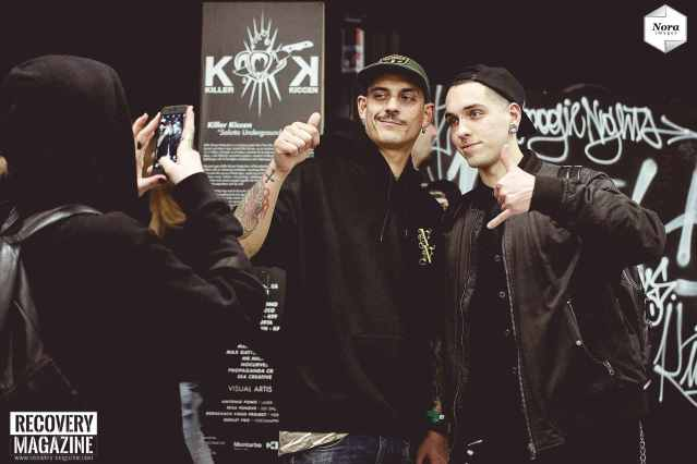 Noyz Narcos at Milano Tattoo Convention, NORA images