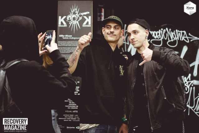 Noyz Narcos at Milano Tattoo Convention, NORA images