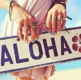 Aloha sign used in article about traveling at recovery warriors - miriam roelink