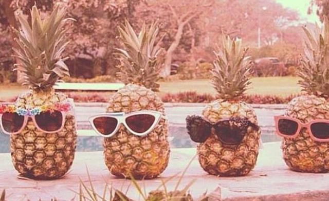 recovery warriors - blog post - affirmations pineapples