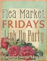 Flea Market Fridays Small Link Up
